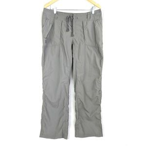 North Face Pants Womens 12 Gray Nylon Outdoors